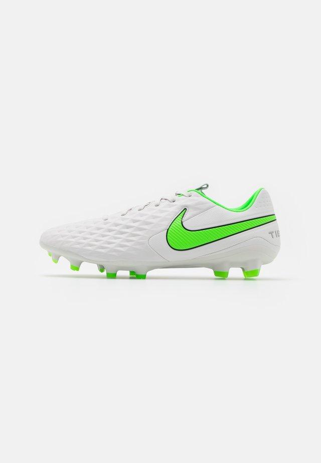 TIEMPO LEGEND 8 PRO FG - Voetbalschoenen met kunststof noppen - platinum tint/rage green
