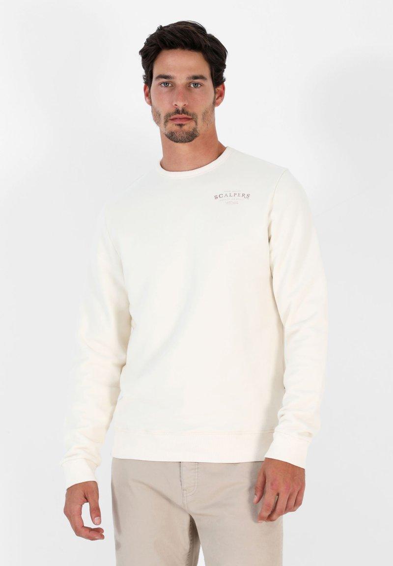 Scalpers - Sweatshirt - off white