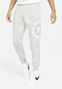 Nike Sportswear - Träningsbyxor - dark grey heather/iron grey - 0