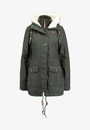JANE - Winter coat - green