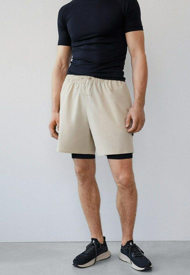 BOGATELL I - Shorts - beige