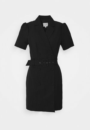 VIDITTA BLAZER DRESS - Shift dress - black