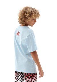 Vans - Print T-shirt - light blue - 1