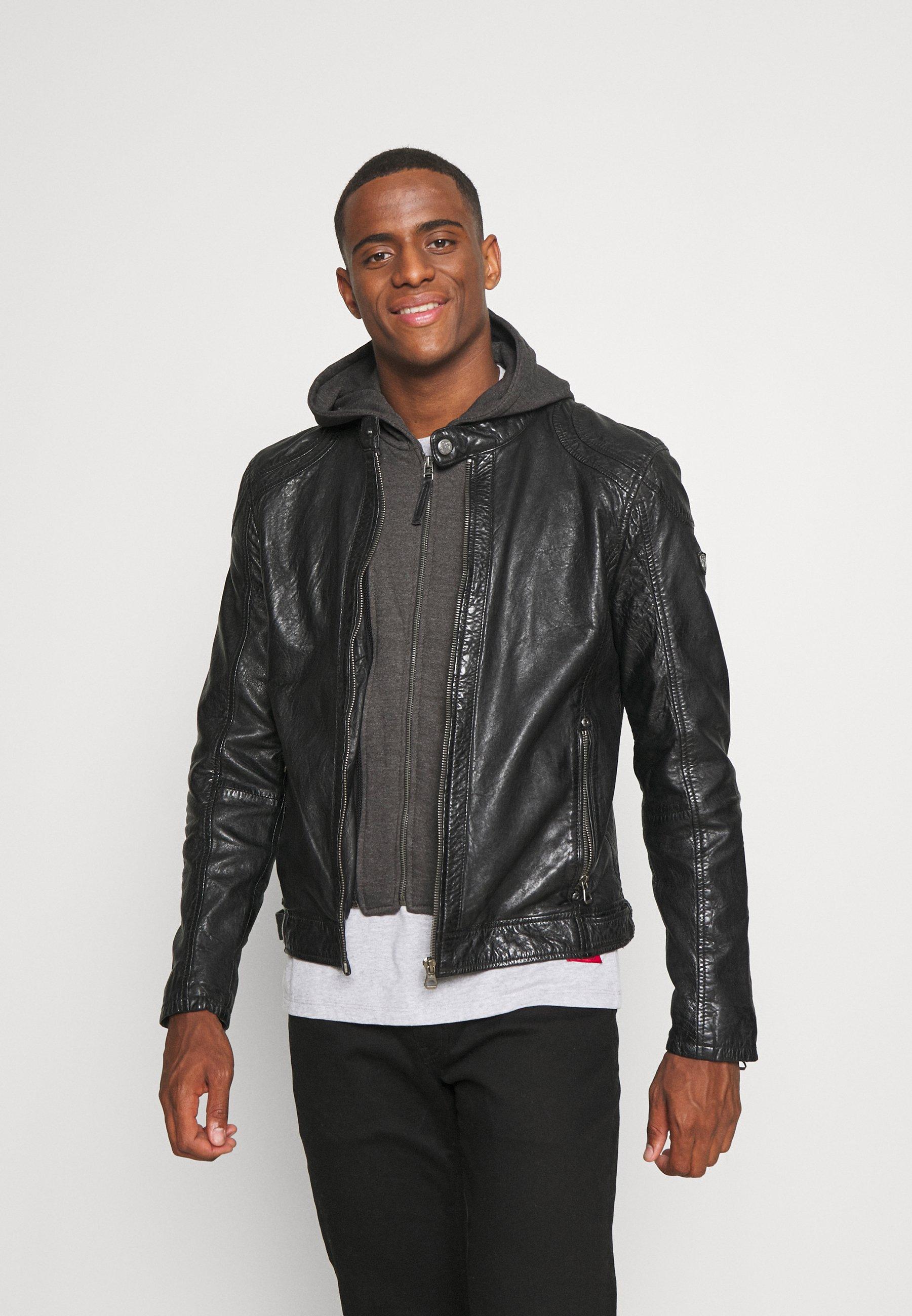 Men DARNI - Leather jacket