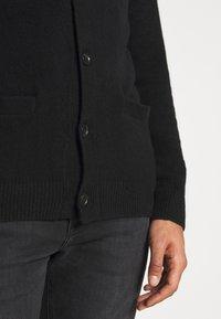 Abercrombie & Fitch - CARDIGAN - Cardigan - black - 4