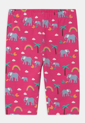 LAURIE BIKER ELEPHANTS AND RAINBOWS - Shorts - deep pink