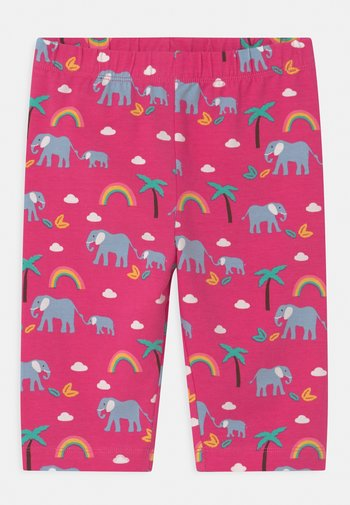 LAURIE BIKER ELEPHANTS AND RAINBOWS - Kraťasy - deep pink