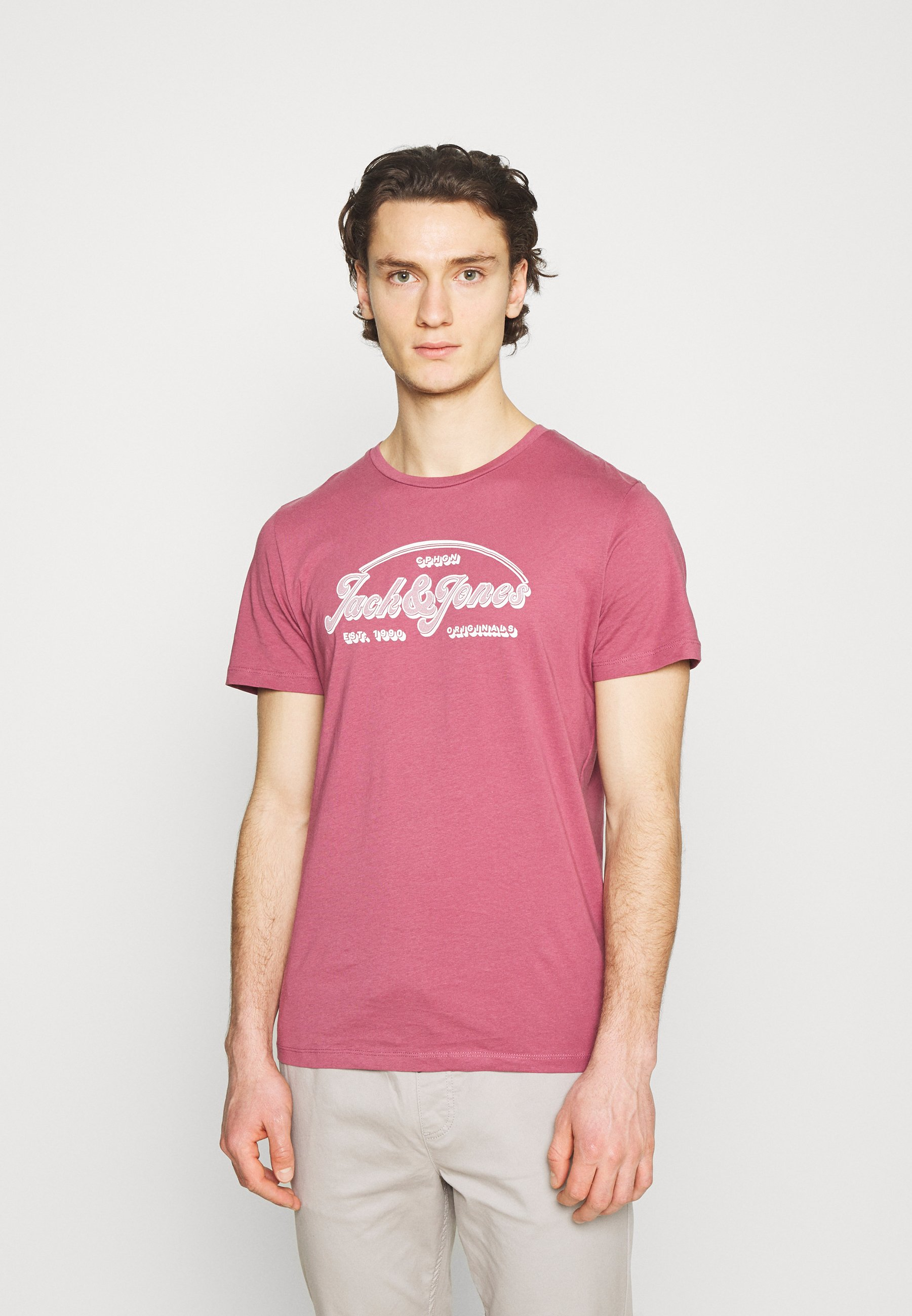 Men JORBRIANS TEE CREW NECK - Print T-shirt