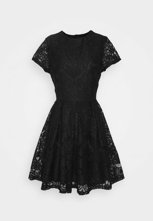 STACEY SKATER DRESS - Robe fourreau - black
