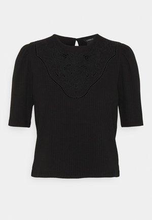 ROSE - Print T-shirt - black