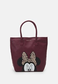 Kidzroom - SHOPPING BAG MINNIE MOUSE MOST WANTED ICON - Luiertas - red - 0