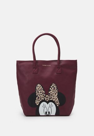 SHOPPING BAG MINNIE MOUSE MOST WANTED ICON - Torba do przewijania - red