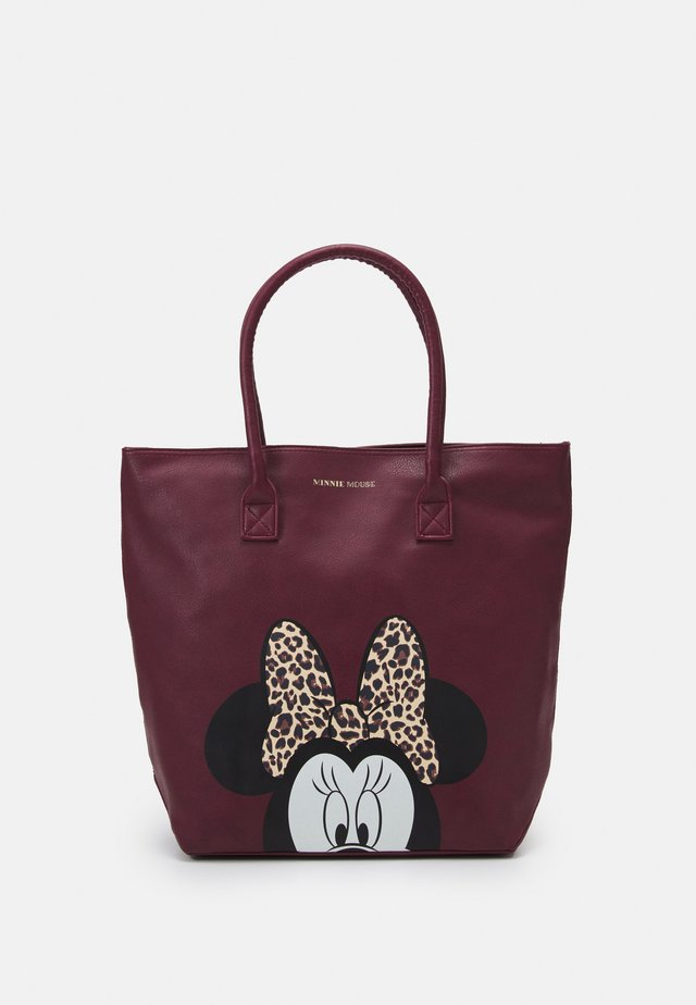 SHOPPING BAG MINNIE MOUSE MOST WANTED ICON - Baby changing bag - red