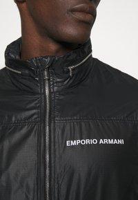 Emporio Armani - BLOUSON JACKET - Summer jacket - nero - 6