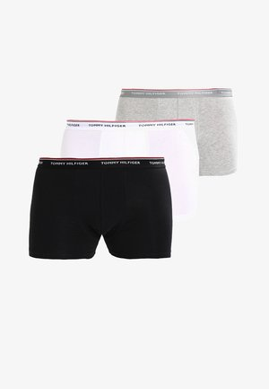 PREMIUM 3 PACK - Pants - black/grey heather/white
