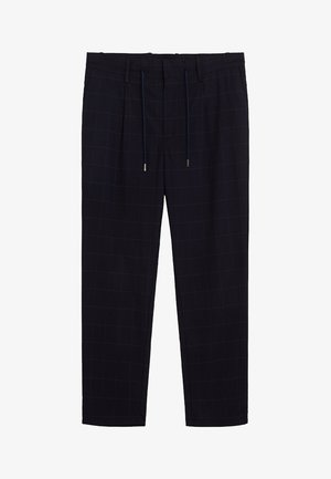 NOLAN7 - Spodnie materiałowe - dunkles marineblau