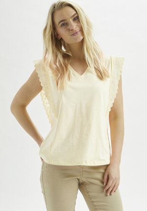 CRSANAL  - Print T-shirt - light pink