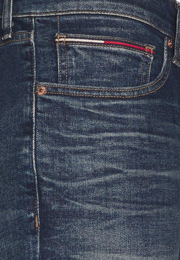 Tommy Jeans SCANTON SLIM - Jeansy Slim Fit - james four year comfort/ciemnoniebieski Odzież Męska TIUN