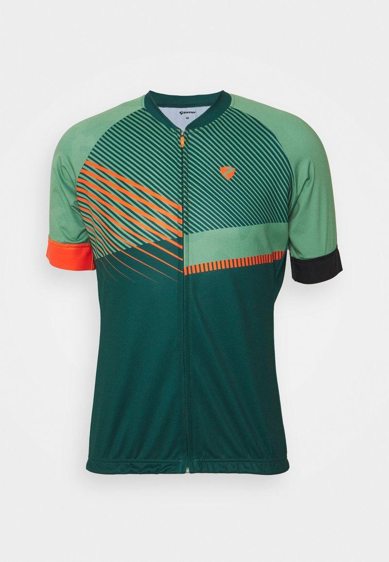 Ziener - NOFRET MAN  - Print T-shirt - spruce green