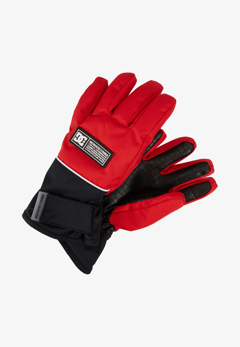 DC Shoes - FRANCHISE GLOVE - Rukavice - racing red