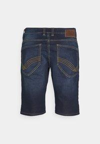TOM TAILOR - JOSH - Denim shorts - dark stone wash denim - 1
