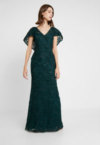 Adrianna Papell - SOUTACHE CAPE GOWN - Occasion wear - dusty emerald - 2