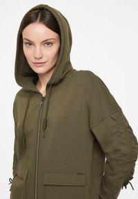 comma casual identity - Zip-up hoodie - khaki - 5