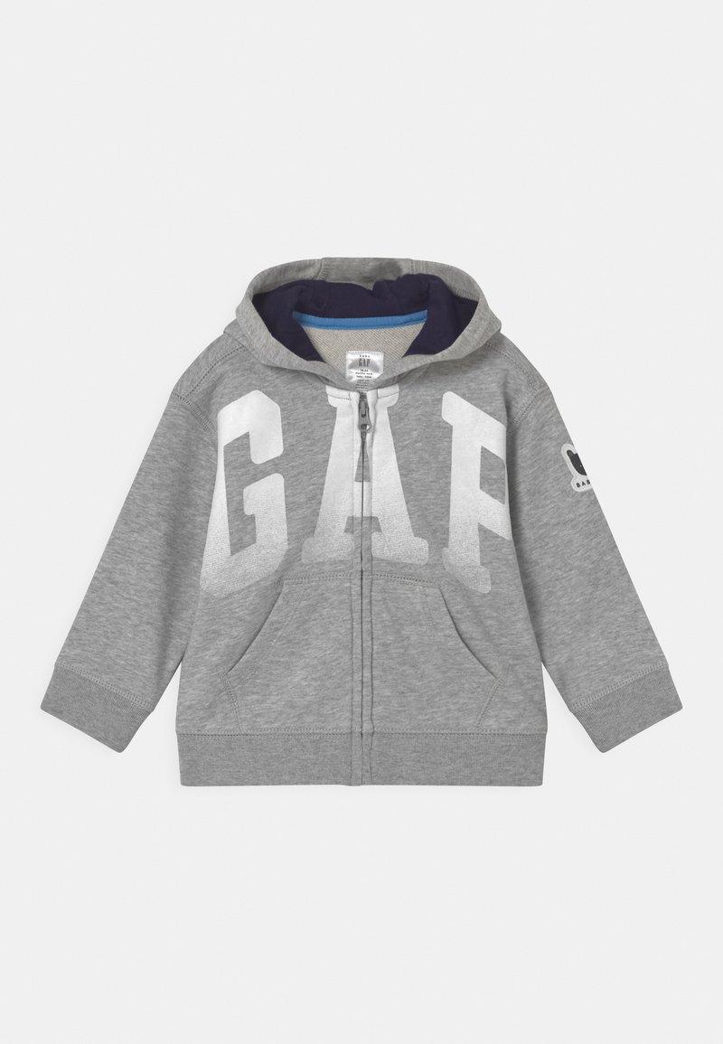 GAP - ARCH HOOD - Zip-up sweatshirt - light heather grey