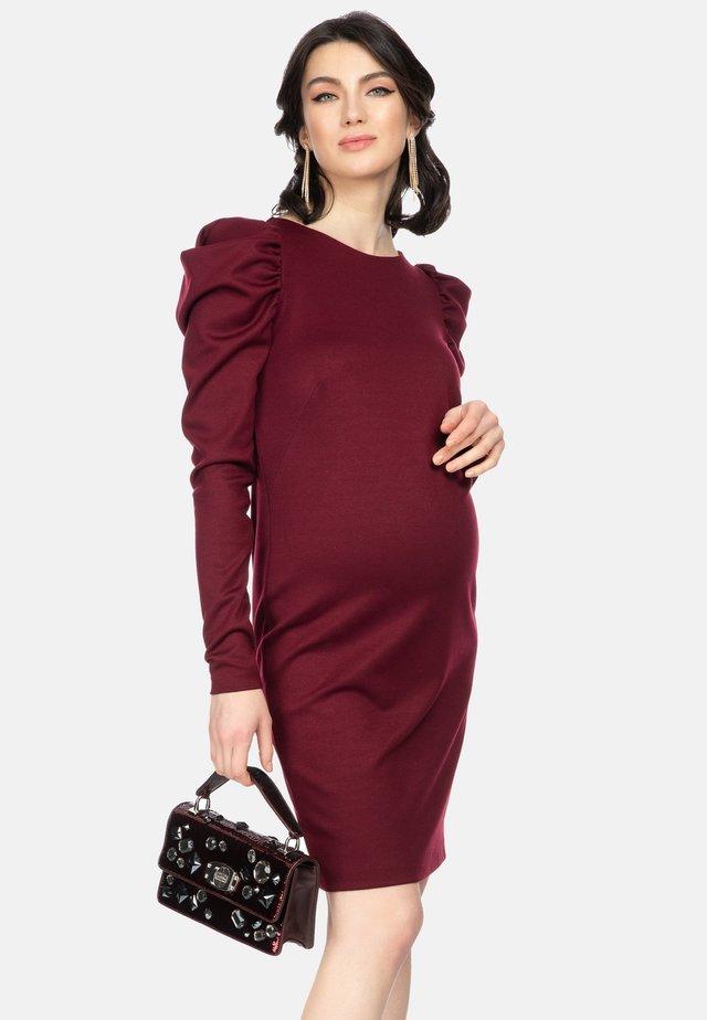 ROME - Shift dress - bordeaux