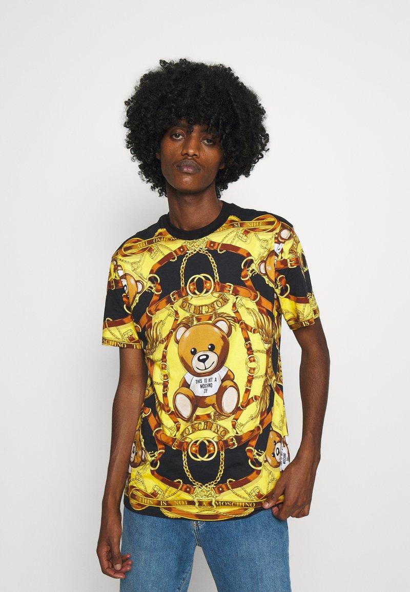 MOSCHINO - Print T-shirt - black