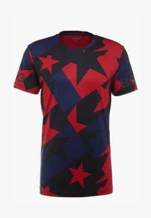 TEE - Print T-shirt - tilt red