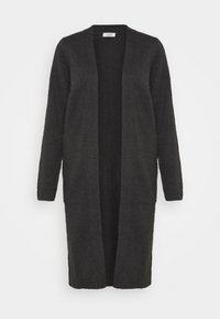 Cardigan - dark grey melange