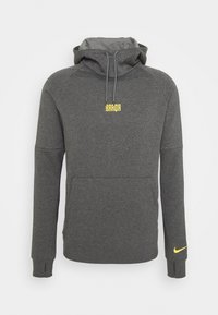 Nike Performance - FC BARCELONA - Club wear - charcoal heather/amarillo - 5