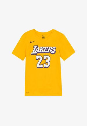 NBA LOS ANGELES LAKERS JAMES LEBRON CITY EDITION - Fanartikel - amarillo
