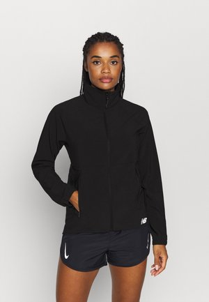 IMPACT RUN JACKET - Chaqueta de deporte - black