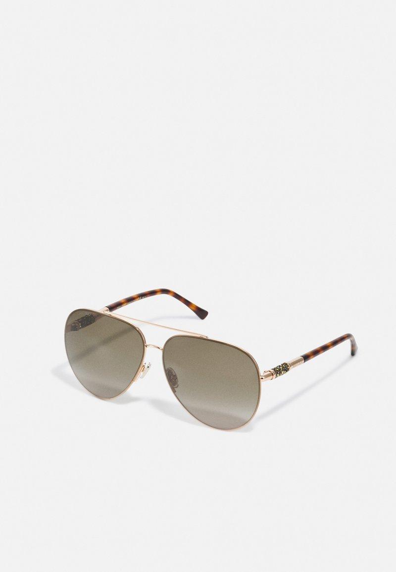 Jimmy Choo - GRAYS - Sunglasses - gold-coloured havana