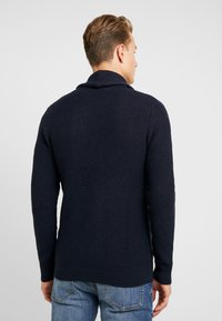 Selected Homme - Cardigan - maritime blue/black/dark navy - 2