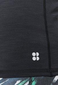 Sweaty Betty - SUPER SCULPT YOGA  - Sports shirt - black marl - 5