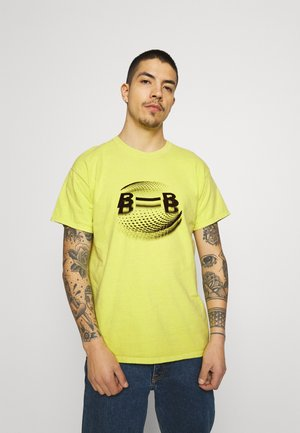 RACINE TEE - T-shirt imprimé - straw