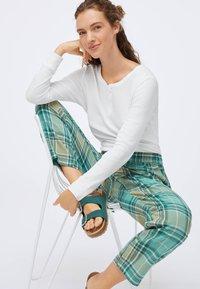 OYSHO - Pyjama bottoms - evergreen - 4