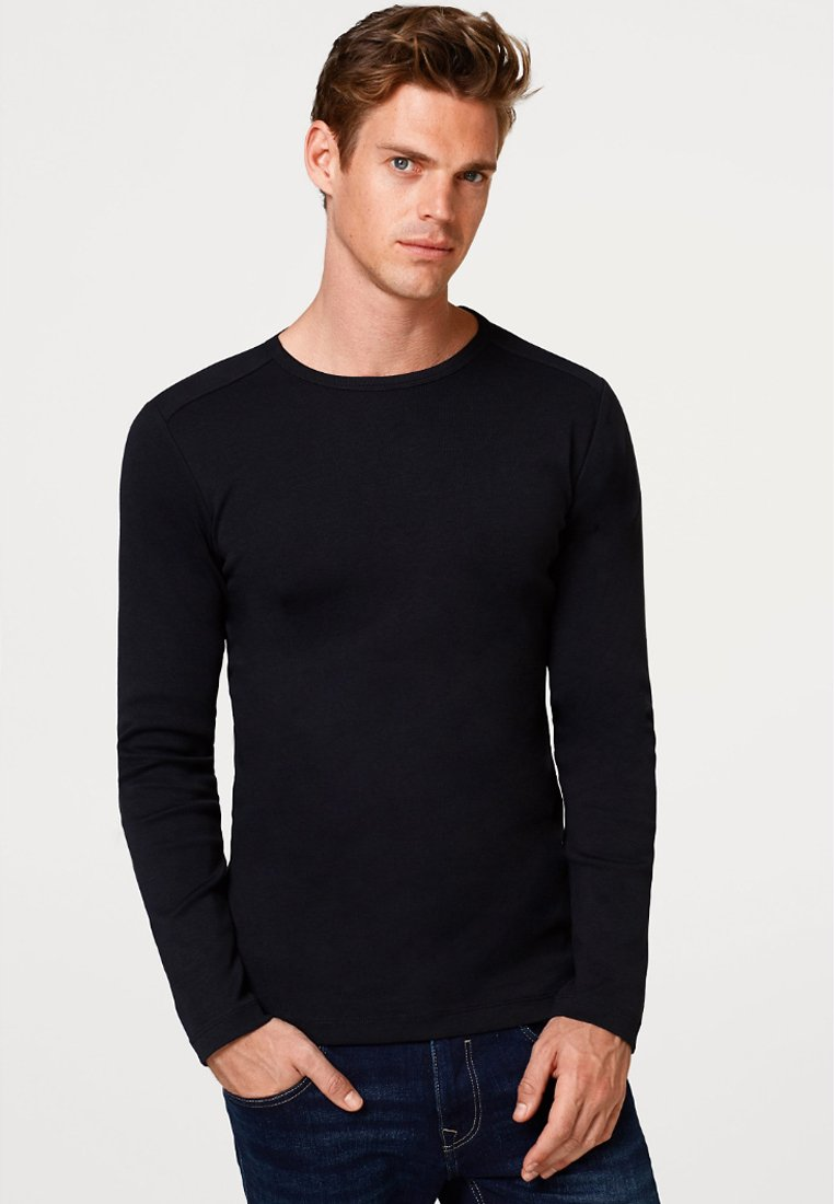Esprit - BASIC - Long sleeved top - black