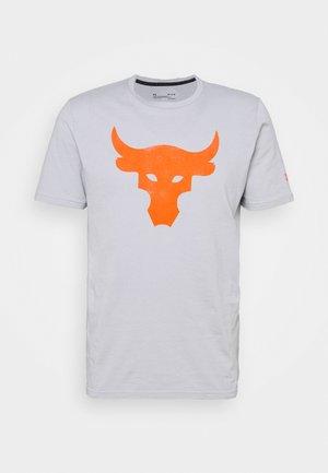 ROCK BRAHMA BULL - T-shirt z nadrukiem - mod gray