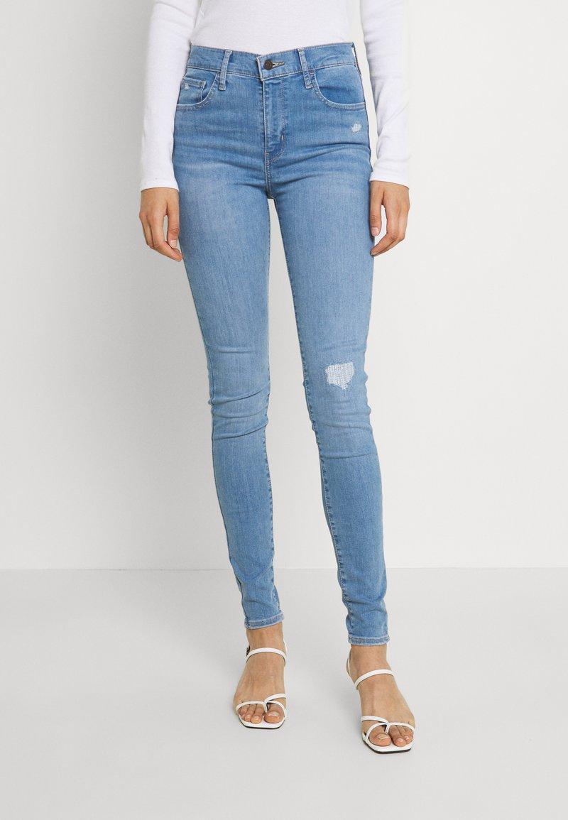 Levi's® - 720 HIRISE SUPER SKINNY - Jeans Skinny - eclipse moon