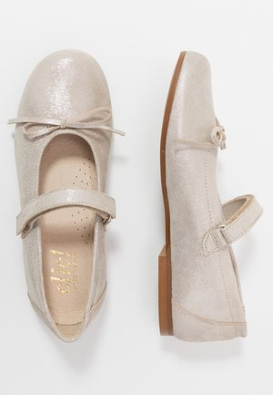 Ankle strap ballet pumps - cosmos ifrit