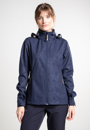 EP AVENAL - Soft shell jacket - dark blue