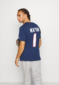 Fanatics - NFL CAM NEWTON NEW ENGLAND PATRIOTS ICONIC NAME & NUMBER GRAPHIC - Club wear - navy - 2