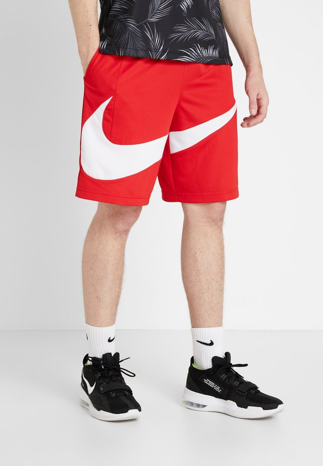 DRY SHORT - Pantaloncini sportivi - university red/white
