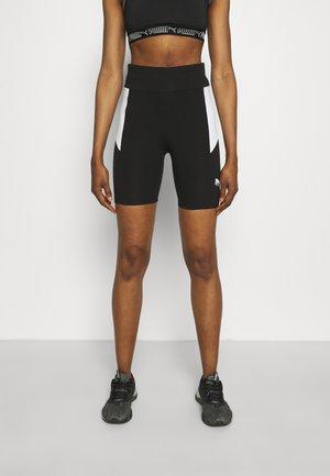 REBEL SHORT - Legging - black