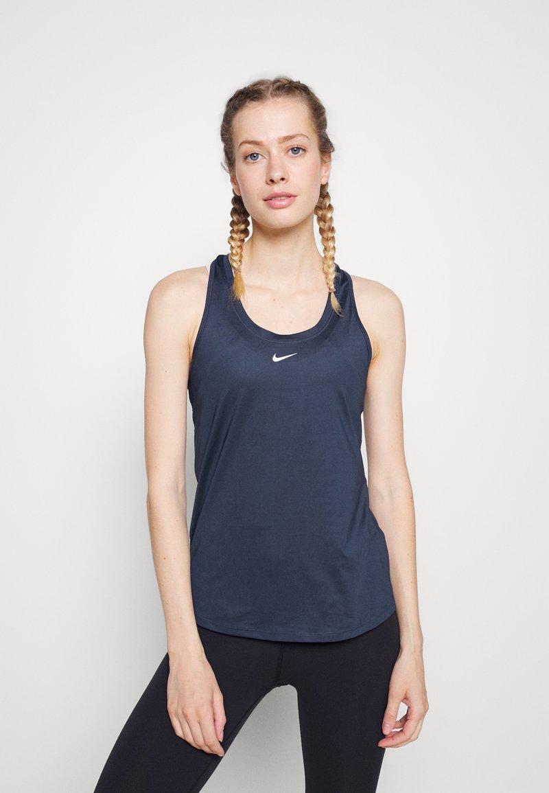 Nike Performance - ONE SLIM TANK - Top - midnight navy/white