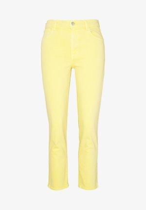 RUBY HIGH RISE CROP CIGARETTE - Straight leg jeans - jasmine